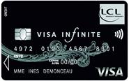 carte visa infinite lcl
