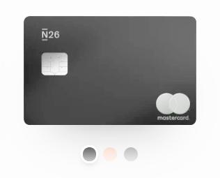 carte n26 metal dark